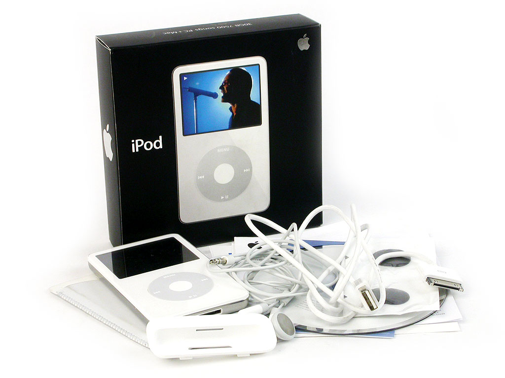 Инструкция к ipod 30gb 7500 songs pc mac
